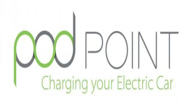 Pod Point Car Charging Logo