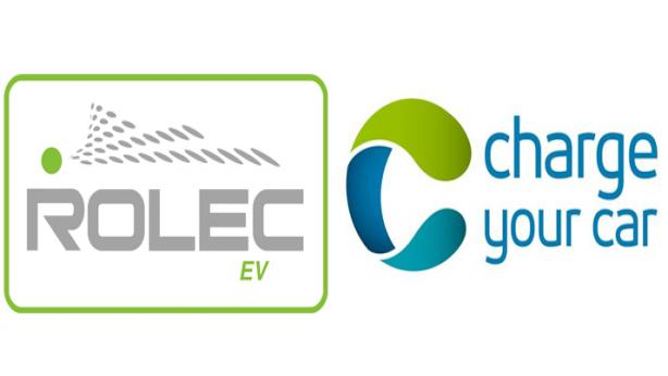 Rolec Car Charging Logo