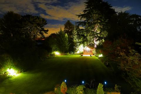 Garden and Outdoor Lighting Electrician in Nottingham and Derby
