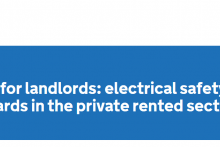 Landlords electrical safety guidance